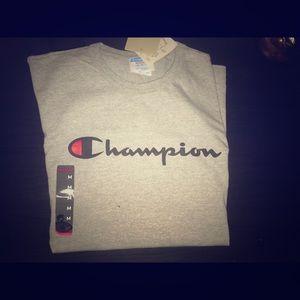 Champion Grey T-Shirt Medium BNWT